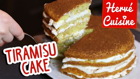 tiramisu hervé cuisine recette du gâteau quot tiramisu cake quot pour la fête des mères