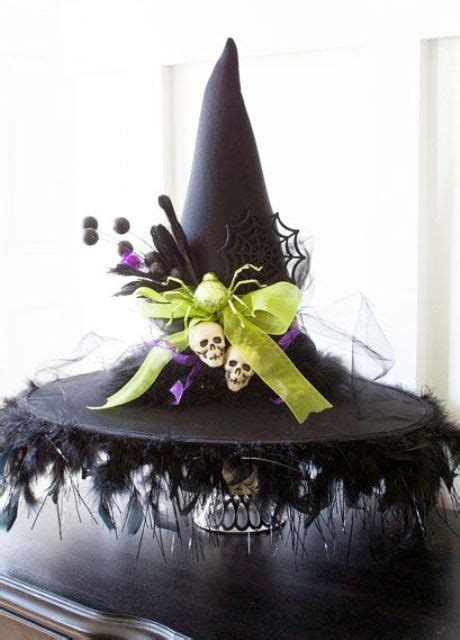 witch decoration 34 witch themed halloween decorations to create an ambience digsdigs
