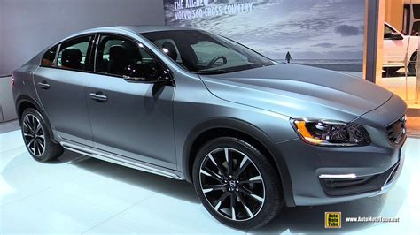 2016 Volvo S60 T5 Awd by 2016 Volvo S60 Cross Country T5 Awd Exterior And
