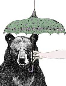 Bear Hipster Art