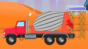 Concrete Mixer Trucks For Kids