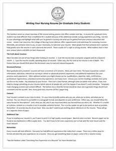 cosy nursing extern resume exles morningperson co
