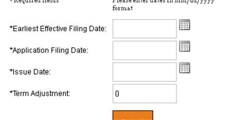patent tools patent expiry date calculator patents