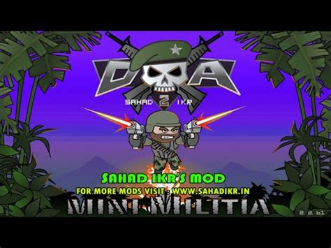 Hack Mini Militia Shahid Ikr Apk Download - Mobile Phone ...