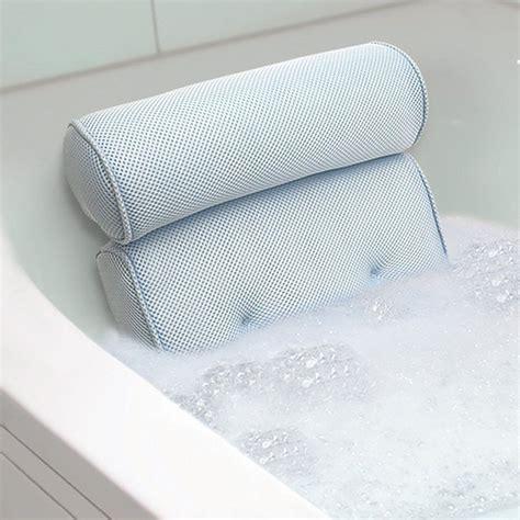 Bath Tub Spa Pillow Cushion Neck Back Support Foam Comfort