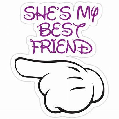 Friend She Stickers Sticker Redbubble Shes Fitspire