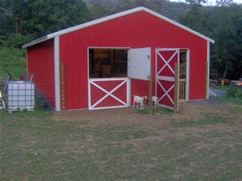 kie guide   goat shed designs