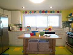 Decorating With Fiestaware Colorful Kitchen Makeover Featuring Fiestaware Hooked On Houses