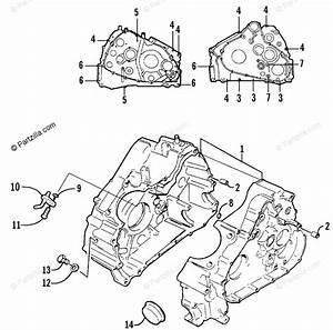 Arctic Cat Atv 2002 Oem Parts Diagram For Crankcase