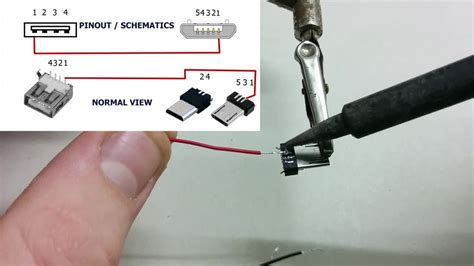 how to make usb otg cable 5 steps with