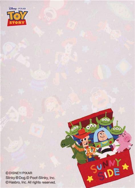 black disney toy story toy box mini memo pad  japan