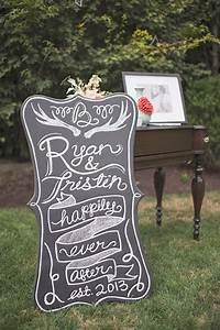 Blog - A Chalkboard Sign Wedding