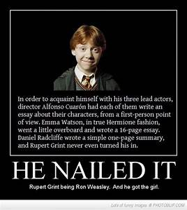 RON WEASLEY Quotes Like Success