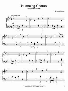 Humming Chorus (Butterfly) | Sheet Music Direct