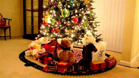 christmas trains for under the tree choo choo the tree