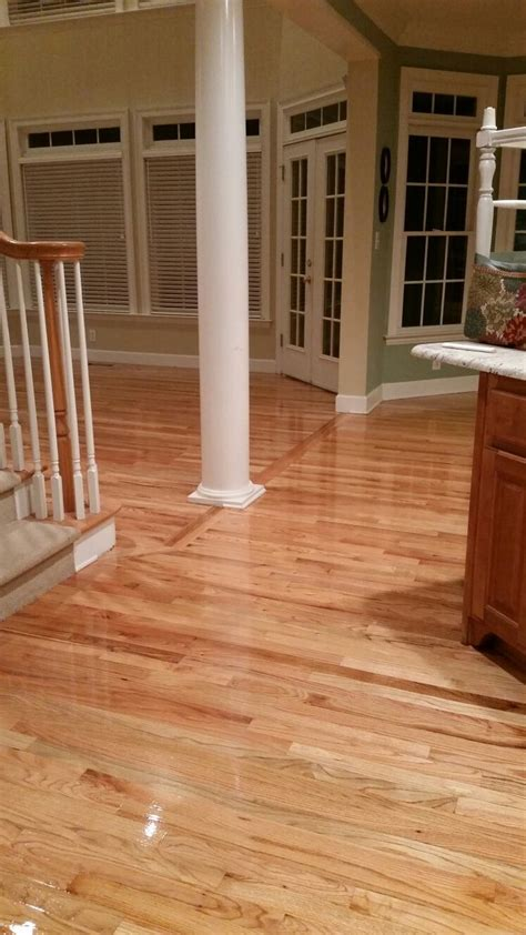natural finish  red oak floors floors ive