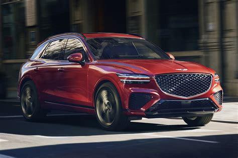 New Hyundai Genesis GV70 SUV to get range-topping 380hp V6 ...