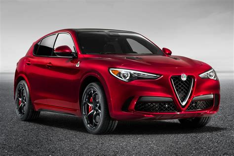 Alfa Romeo Car : New Alfa Romeo Stelvio Quadrifoglio Suv Revealed