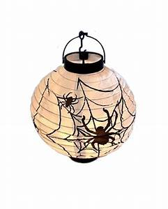 Lampions Mit Led : led lampion mit spinnenmotiv spinnen und netze sind deko ~ Watch28wear.com Haus und Dekorationen