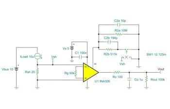 Ina Precision Low Drift Cmos Instrumentation