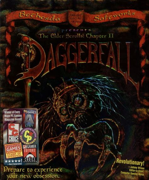 The Elder Scrolls Chapter Ii Daggerfall 1996 Dos Box