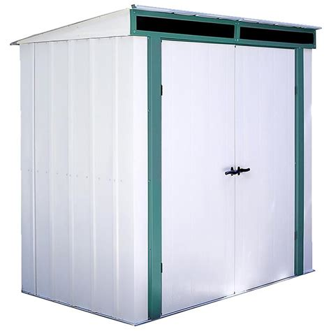 arrow metal shed accessories shop arrow lite galvanized steel storage shed