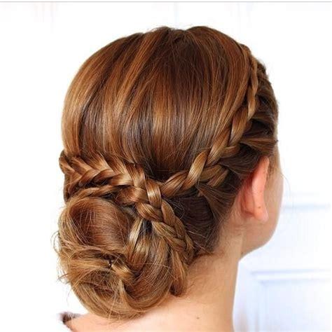 crown braid  bun pictures   images