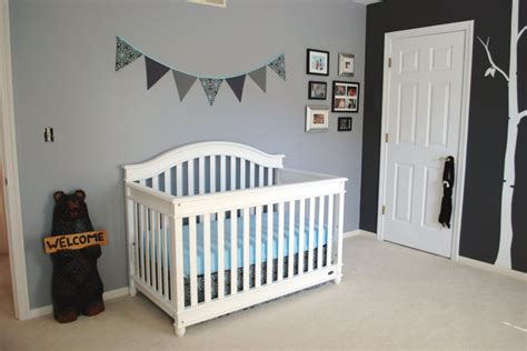 Light Gray Curtains For Nursery by D 233 Coration Chambre D Enfant Grise