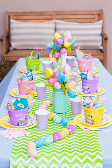 diy easter table settings    home table