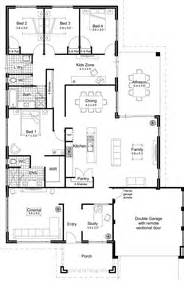 Contemporary Home Floor Plans Open Floor Plans For Homes With Modern Open Floor Plans For One Story Homes 2d And 3d Floor