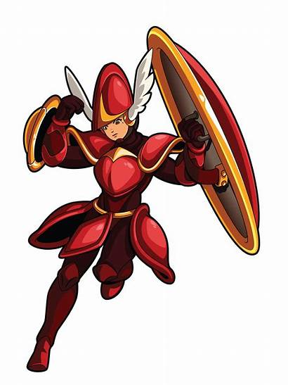 Knight Shovel Showdown Illustrations Characters Character Key
