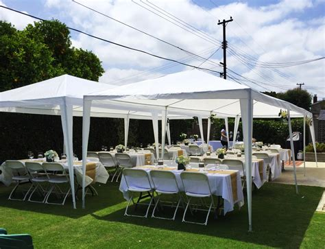 peaktop 174 10 x 30 heavy duty outdoor gazebo wedding party
