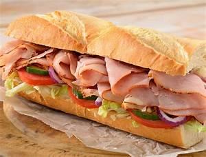 Turkey and cheese sandwich | American Garden