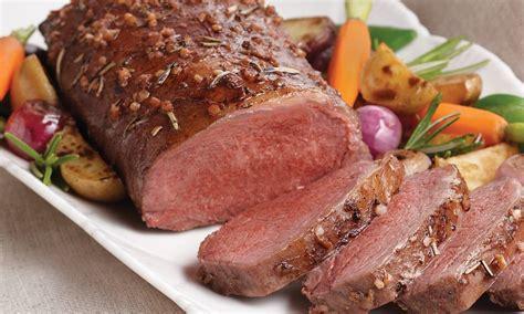 Marinated Lamb Loin Roast