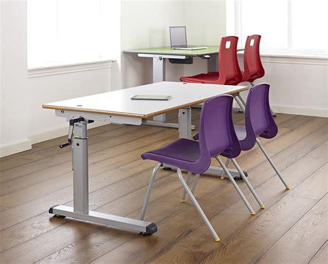 height adjustable school desk classroom table