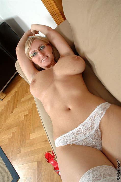 Nerdy Girl Glasses Big Tits