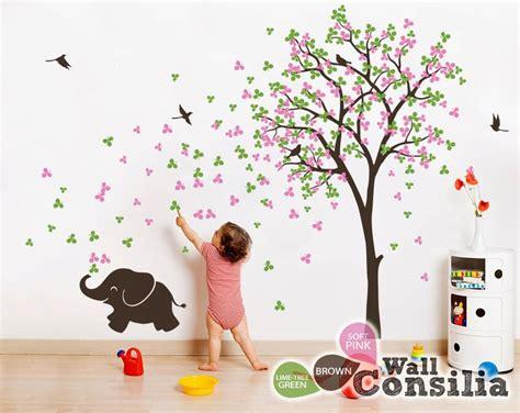 Wandtattoo Kinderzimmer Mädchen Baum by Baby Nursery Wall Decals Tree Wall Decal Elephant Decal