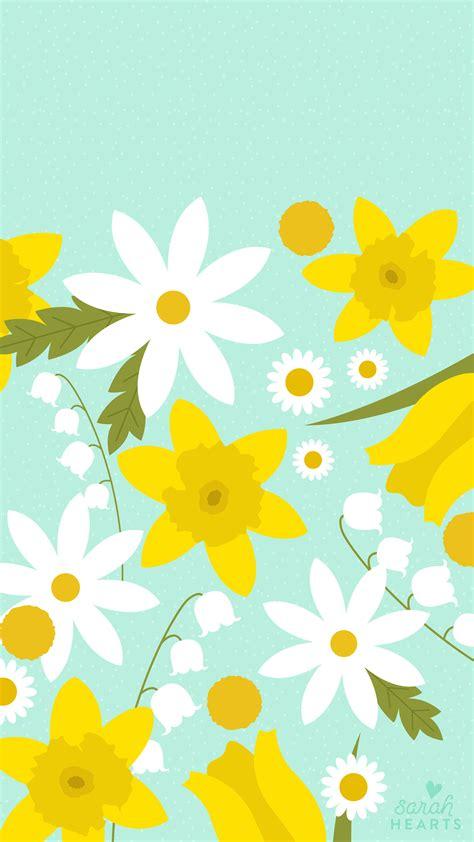 march  spring flower calendar wallpaper sarah hearts