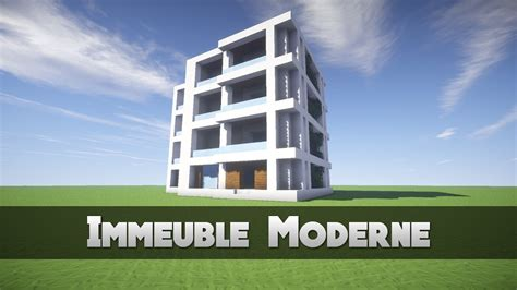 Tuto Immeuble Moderne !  Minecraft Youtube