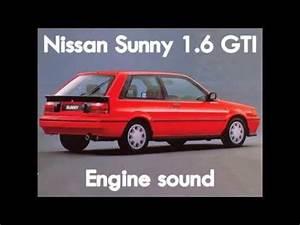 Nissan Sunny Gti Motor : nissan sunny n13 1 6 gti engine exhaust sound youtube ~ Kayakingforconservation.com Haus und Dekorationen