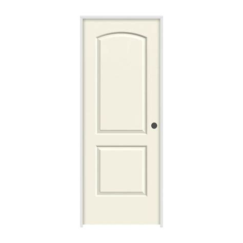 home depot hollow interior doors jeld wen 24 in x 80 in molded smooth 2 panel arch