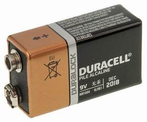 9 Volt Batterie : rsmn1604 duracell alkaline 9v battery pp3 duracell ~ Markanthonyermac.com Haus und Dekorationen