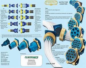 Flow Twintech R2 Multi Tube Connectors 1505490420 Twintec