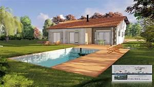 Creation Maison 3d : image de maison 3d plan permis de construire france ~ Premium-room.com Idées de Décoration