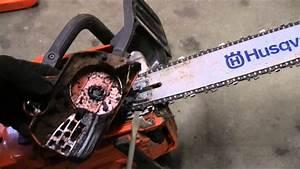 How To Change The Husqvarna 450 Chainsaw Chain