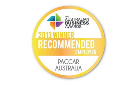 paccar australia paccar australia among best in business paccar australia