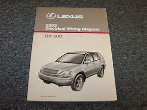 2003 Lexus Rx300 Suv Factory Electrical Wiring Diagram