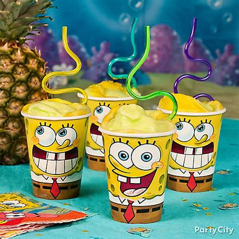 spongebob cuisine spongebob smoothie idea food drink ideas spongebob