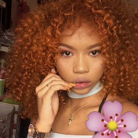 Ginger Gal Hair Inspo Color Colored Curly Hair