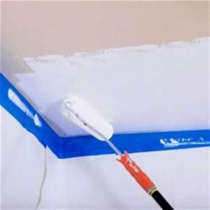 peindre un plafond pas cher With peinture epaisse pour plafond